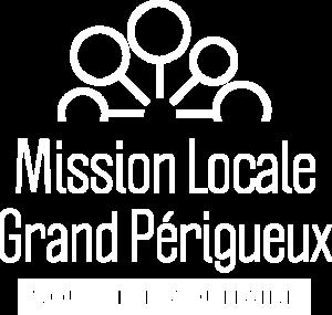 Logo Mission Locale du Grand Périgueux Blanc