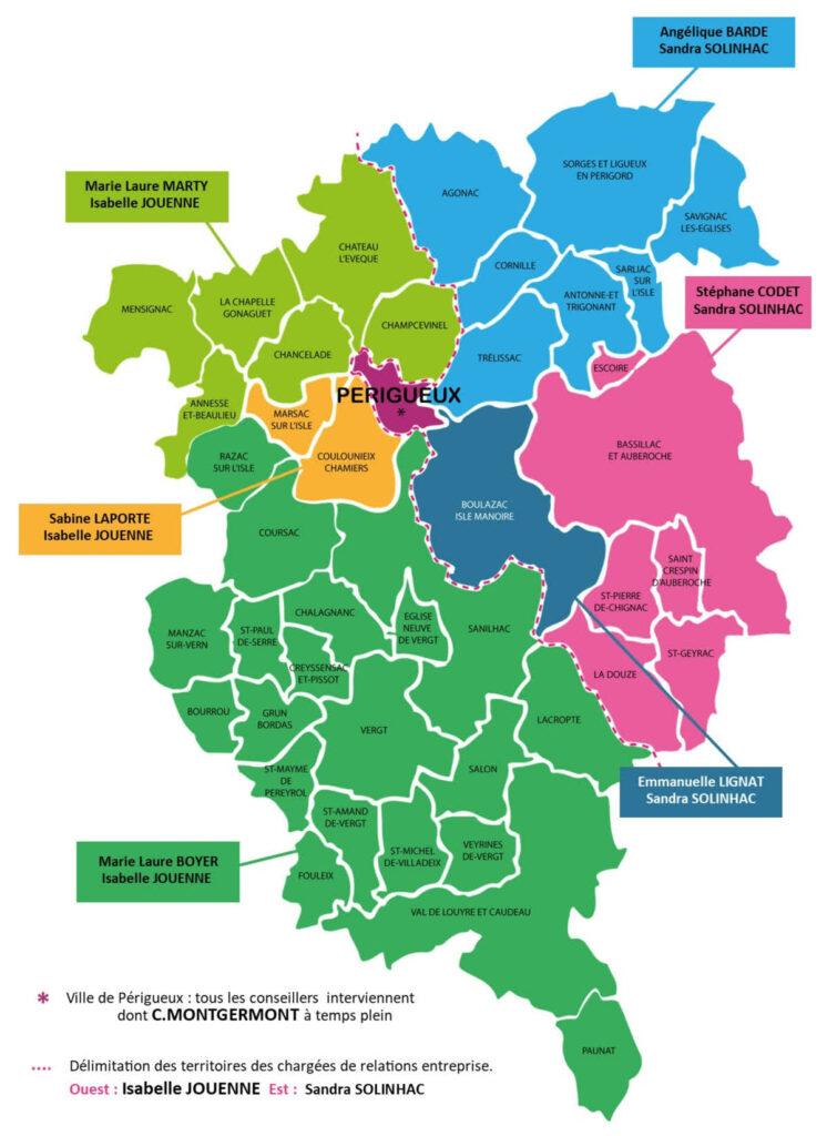 Carte du Grand Périgueux - Notre Equipe